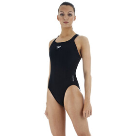 speedo Essential Endurance+ Medalist Costume da bagno Donna, black